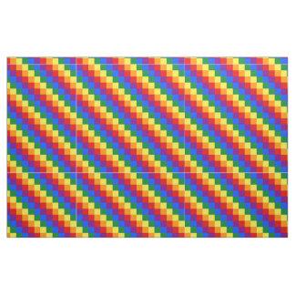 Checkered  LGBT pattern Fabric