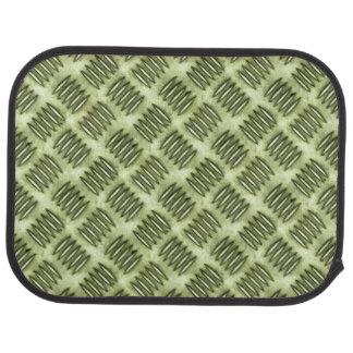 Checkered Metal Steel Flooring Diagonal Texture Floor Mat