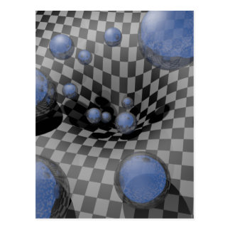 Checkered Past #A Postcard