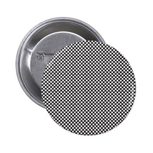 Checkered Pattern Pin