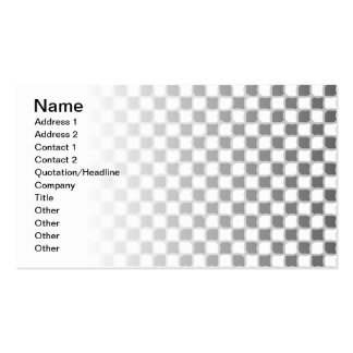 Checkered Pattern Business Card