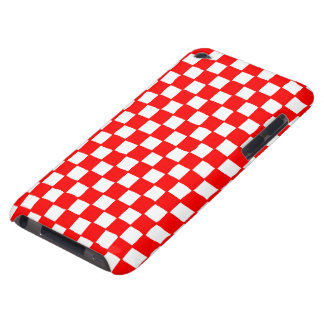 checkered pattern red Case-Mate iPod touch case