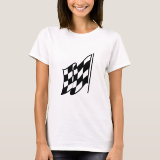Checkered Racing Flag T-Shirt