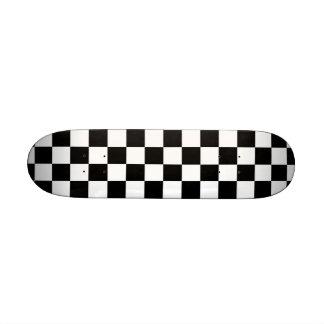 Checkered Skateboard Mini