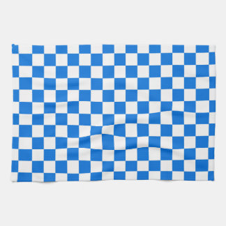 Checkered Tile Pattern Towels