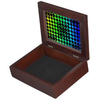 Checkered Twist Memory Box