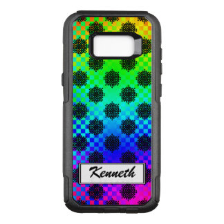 Checkered Wheels by Kenneth Yoncich OtterBox Commuter Samsung Galaxy S8+ Case