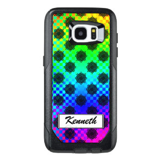 Checkered Wheels by Kenneth Yoncich OtterBox Samsung Galaxy S7 Edge Case