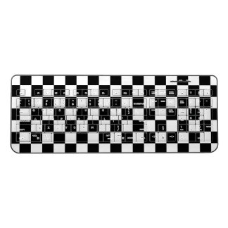 Checkered Wireless Keyboard