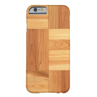 Checkered wood barely there iPhone 6 case