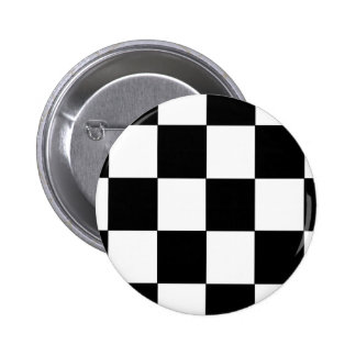 Checkers 6 Cm Round Badge