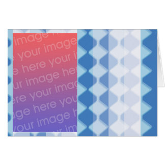 Checkers and Stripes Card