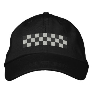 Checkers Embroidered Hat
