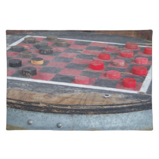 Checkers Game Placemat