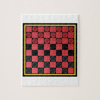 Checkers Game Puzzle
