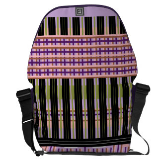 Checkers Off Board - a Jump Messenger Bag
