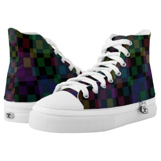 Checkers Printed Shoes