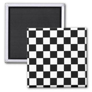 Checkers Refrigerator Magnet