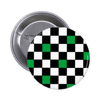 Checkers with Green Buttons