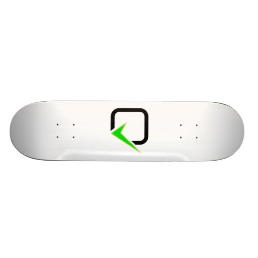 Checkmark Sign Skateboard