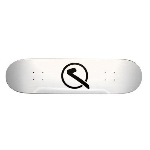 Checkmark Sign Skate Boards