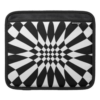Checkmate-Black and White Sleeve For iPads