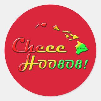 CHEE HOO CLASSIC ROUND STICKER