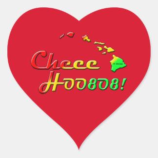 CHEE HOO HEART STICKER