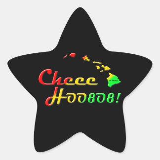 CHEE HOO STAR STICKER