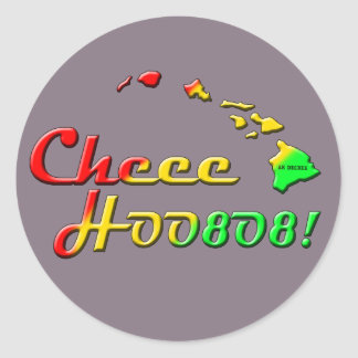 CHEEHOO CLASSIC ROUND STICKER