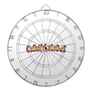 cheekilicious dartboards