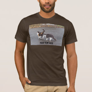 Cheeky Cats in the Road T-Shirt