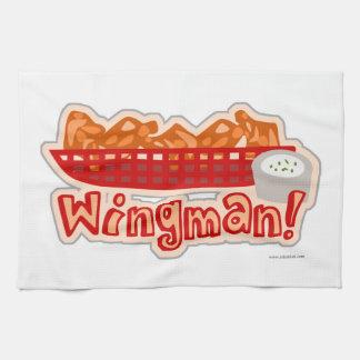 Cheeky Chicken Wing Wingman Tea Towel
