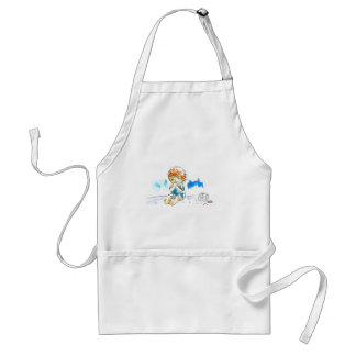 Cheeky Cookie Eater Colour Apron