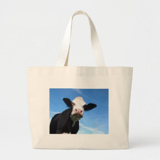 cheeky cow tote bags