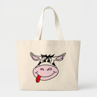 Cheeky Cow Canvas Bags