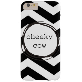 Cheeky Cow Funny Barely There iPhone 6 Plus Case