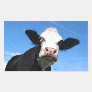 cheeky cow sticker