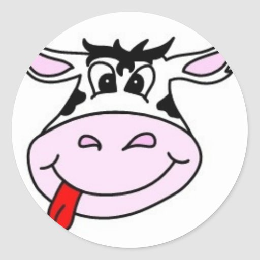 Cheeky Cow Stickers