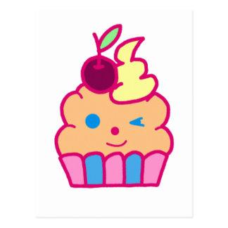Cheeky Cupcake Postcard