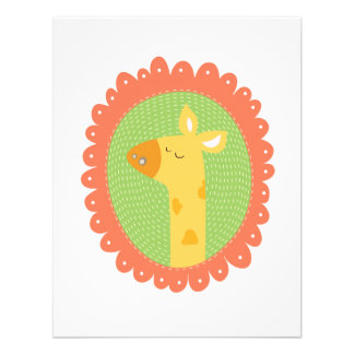 Cheeky Giraffe Custom Announcement