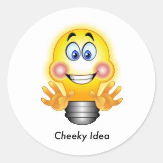 Cheeky Idea Sticker