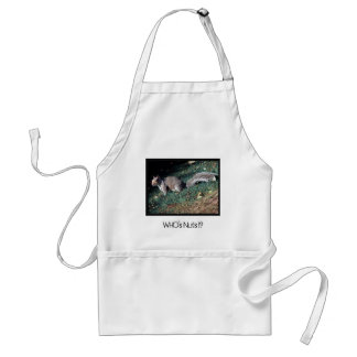 Cheeky Inquisitive Woodland Squirrel Standard Apron