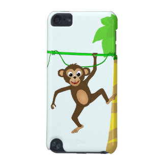 Cheeky Little Monkey Cute Cartoon Animal iPod Touch (5th Generation) Covers