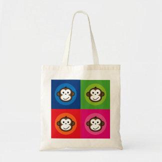 Cheeky Monkey Tote Bags