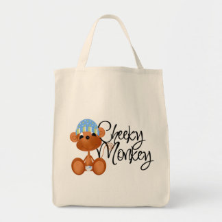 Cheeky Monkey - Boy Tshirts and Gifts Canvas Bag