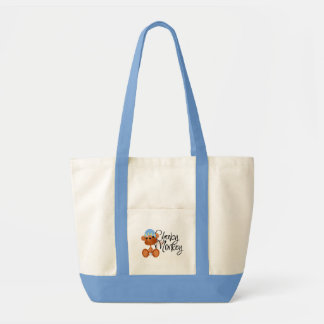 Cheeky Monkey - Boy Tshirts and Gifts Canvas Bags