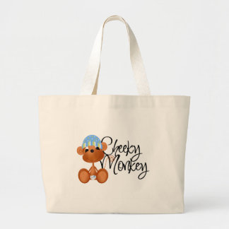 Cheeky Monkey - Boy Tshirts and Gifts Jumbo Tote Bag