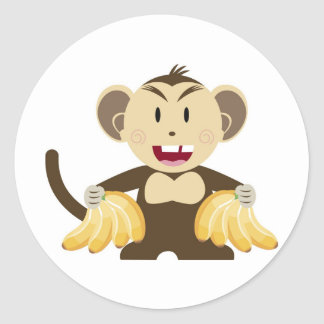 Cheeky Monkey Collection Sticker