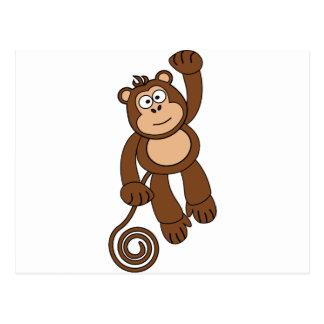 Cheeky Monkey Design Postcard